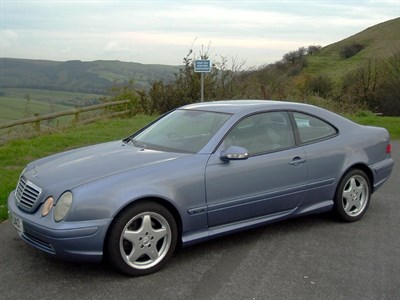 Lot 43 - 2001 Mercedes-Benz CLK 430 Avantgarde
