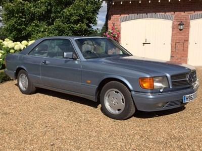 Lot 89 - 1990 Mercedes-Benz 420 SEC