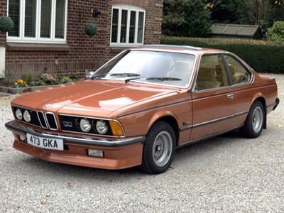 Lot 10 - 1977 BMW 633 CSi