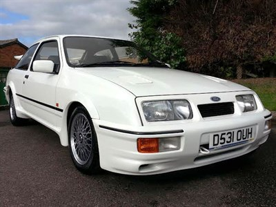 Lot 48 - 1987 Ford Sierra RS Cosworth