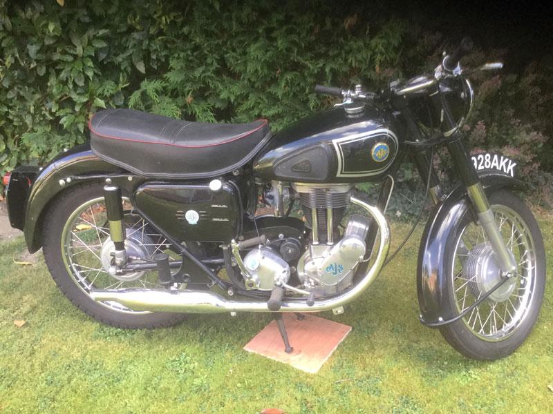 Lot 96-1957 AJS 16M