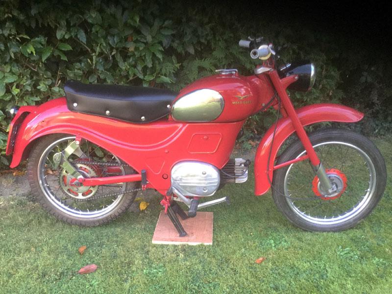 Lot 30-1958 Moto Guzzi Zigolo