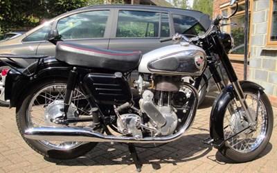Lot 98 - 1957 Norton Model 50