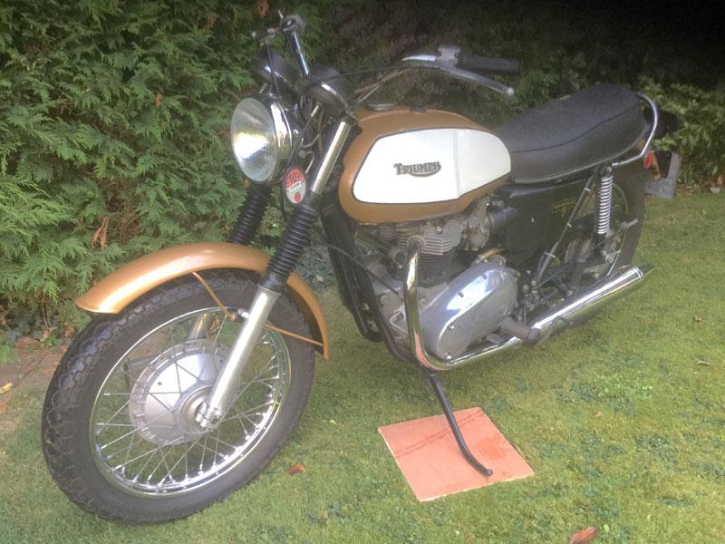 Lot 60-1972 Triumph T120 Bonneville
