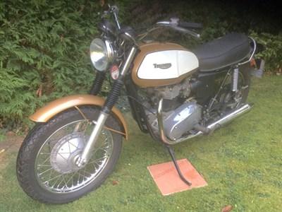 Lot 60 - 1972 Triumph T120 Bonneville