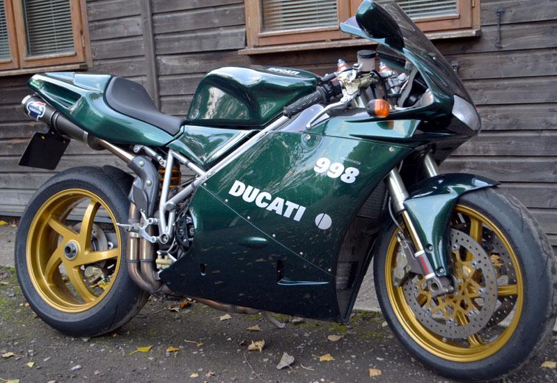 Lot 72-2004 Ducati 998 Matrix Reloaded Edition