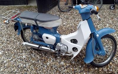 Lot 34 - 1973 Honda C50