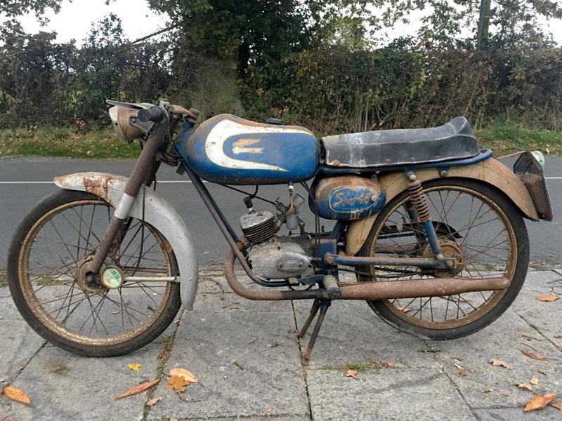 Lot 73-1967 Ducati 48 Sport