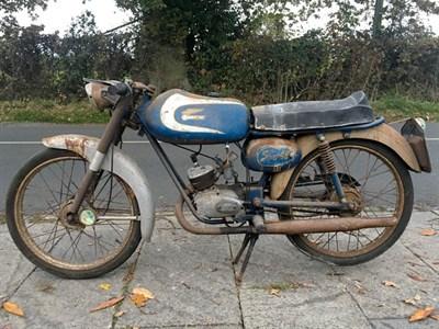 Lot 73 - 1967 Ducati 48 Sport