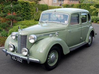 Lot 1 - 1940 Austin 12/16hp Saloon