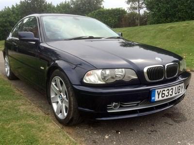 Lot 93 - 2001 BMW 330Ci SE