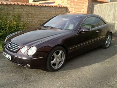 Lot 51 - 2000 Mercedes-Benz CL 500