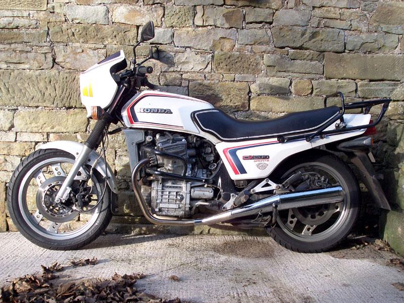 Lot 31-1982 Honda CX500 Sports