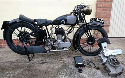 Lot 47 - 1929 AJS Model M4 Deluxe Sport