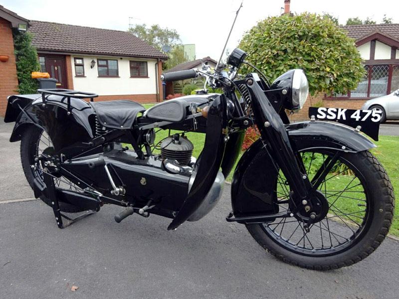 Lot 101-1934 Francis Barnett Cruiser F45