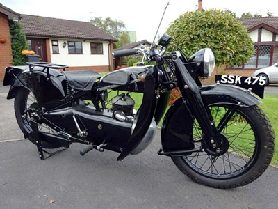 Lot 101 - 1934 Francis Barnett Cruiser F45
