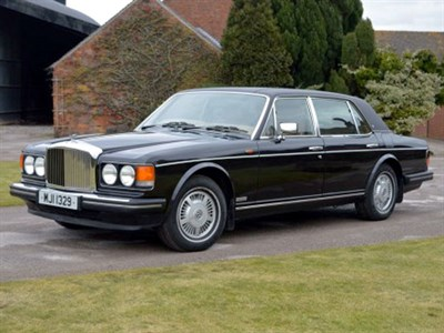 Lot 29-1987 Bentley Mulsanne