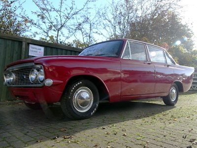 Lot 57 - 1965 Ford Zodiac MKIII