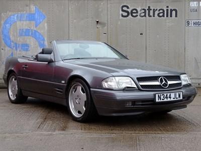 Lot 18-1996 Mercedes-Benz SL 320