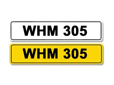 Lot 2-Registration Number WHM 305