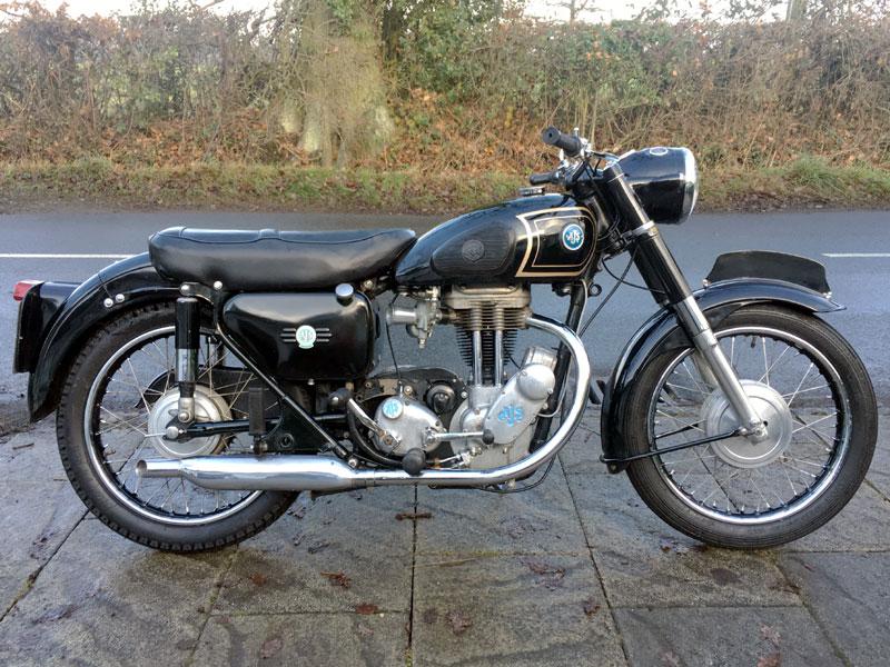 Lot 102-1957 AJS 16MS