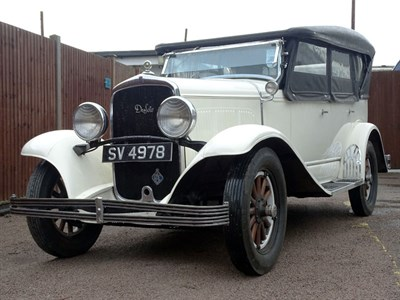 Lot 14-1929 DeSoto Six Model K Tourer