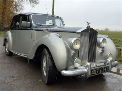 Lot 17-1955 Rolls-Royce Silver Dawn