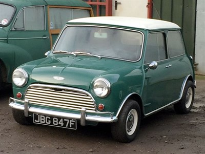 Lot 15-1968 Morris Mini Cooper Evocation