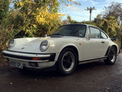 Lot 18 - 1984 Porsche 911 Carrera 3.2 Sport