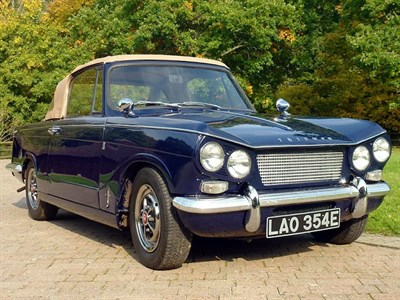 Lot 49 - 1967 Triumph Vitesse Convertible Conversion