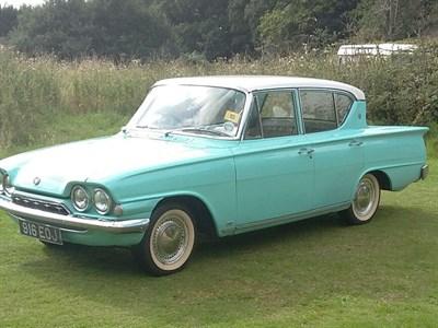 Lot 3-1961 Ford Consul Classic De Luxe