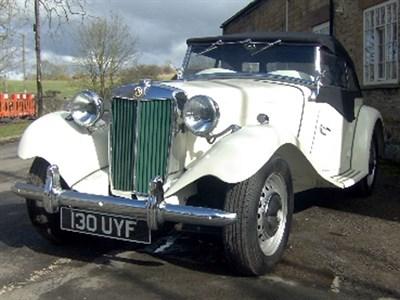 Lot 16-1952 MG TD
