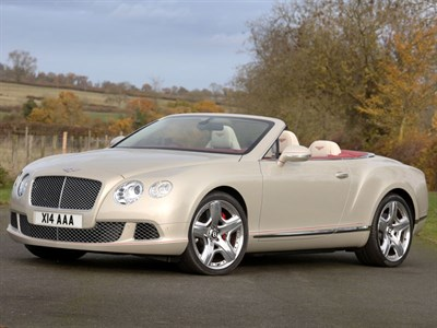 Lot 71 - 2012 Bentley Continental GTC