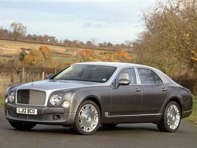 Lot 9 - 2012 Bentley Mulsanne
