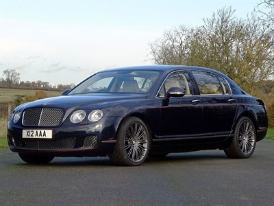 Lot 74-2011 Bentley Continental Flying Spur Speed