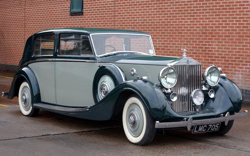 Lot 76-1939 Rolls-Royce Wraith H.J. Mulliner Saloon