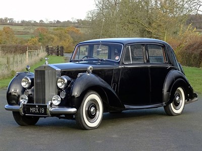 Lot 7 - 1951 Rolls-Royce Silver Dawn