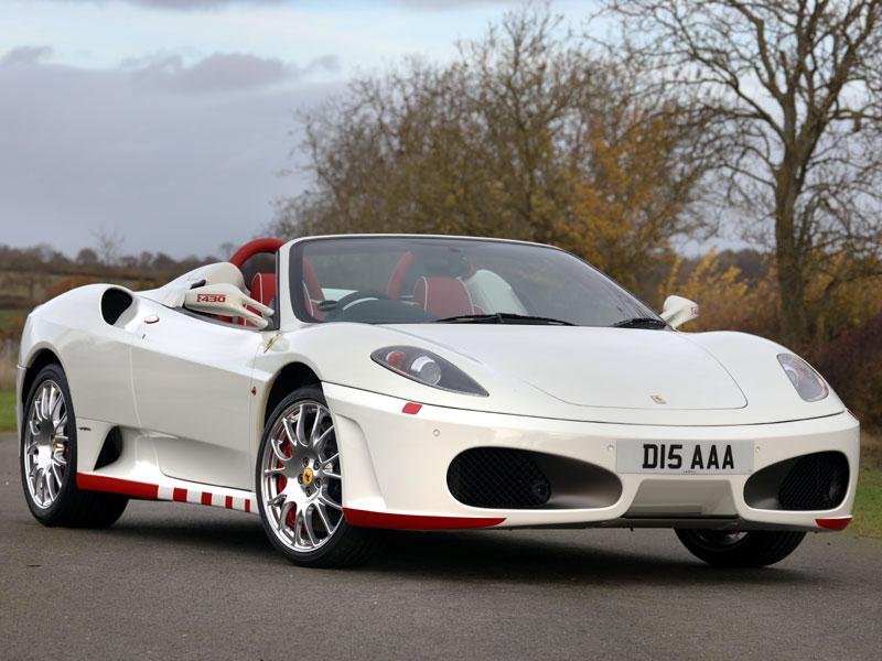 Lot 10-2012 Ferrari F430 F1 Spider