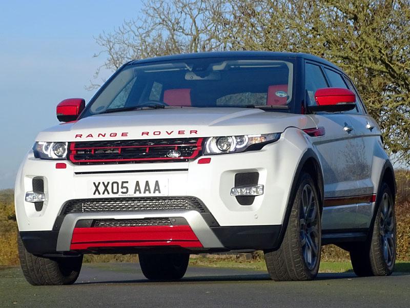 Lot 70 - 2013 Range Rover Evoque Dynamic Lux