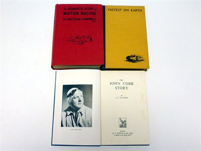 Lot 10 - Early Land Speed Record Books (Signed)
