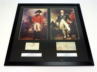 Lot 31 - King George III and King William IV Signed Presentation