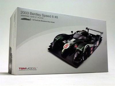 Lot 43 - Bentley Speed-8 Scale Model