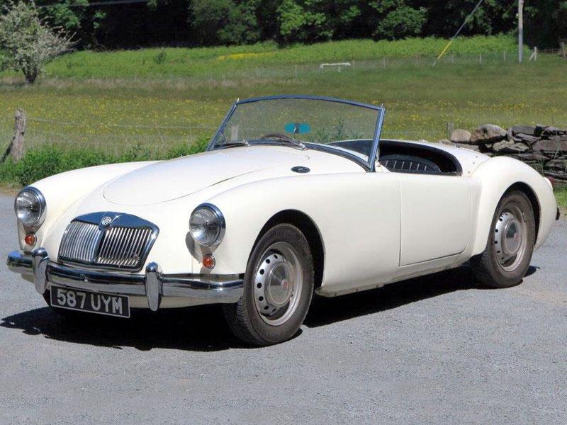 Lot 12 - 1959 MG A 1500 Roadster