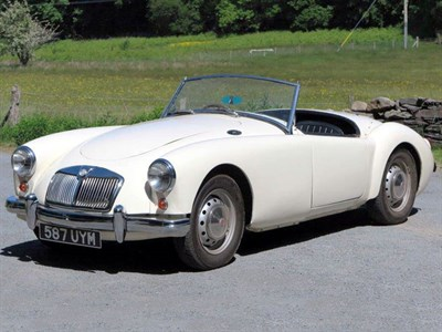 Lot 12-1959 MG A 1500 Roadster