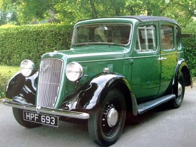 Lot 16-1939 Austin 10/4 Conway Cabriolet