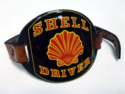 Lot 82 - An Original Shell Driver's Armband, c1930s