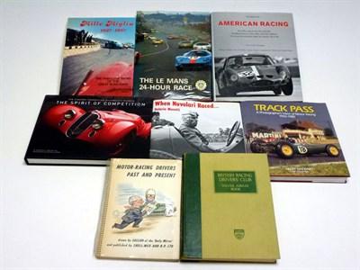 Lot 7 - Eight Motor Racing Books