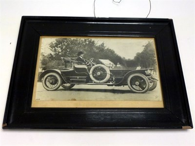 Lot 11 - An Extremely Early Rolls-Royce Press Photograph