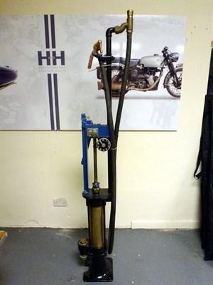 Lot 22 - A Skeleton Hand-Cranked Petrol Pump, 1920**