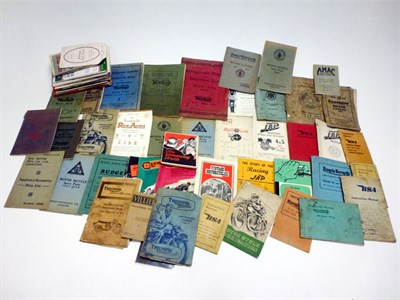 Lot 5 - Quantity of Motorcycle Literature